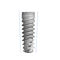 cylindrical dental implant / tapered / titanium / internal hexagon