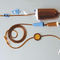 venous infusion set / venous / with filter / latex-free