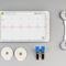 1-channel veterinary ECG system