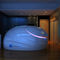 isolation tank with sonotherapy speakers / with chromotherapy lamps