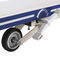 transport stretcher trolley / manual / with adjustable backrest / 2-section