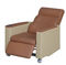 manual blood donor chair / 3 sections / height-adjustable