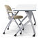 meeting room table / rectangular / on casters / folding