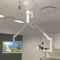 ceiling-mounted camera support arm / surgical / dental / medical