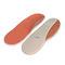 orthopedic insole with heel pad