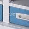 storage cart / medical records / 2-drawer / medical