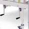 medical bed / manual / fixed-height / on casters