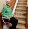 straight staircase stairlift / folding