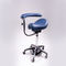 healthcare facility stool / height-adjustable / rotating / swivel