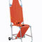 manual stretcher chair / foldable / X-ray transparent / 3-section