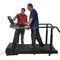 treadmill with handrails
