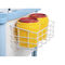 emergency trolley / for general purpose / 5-drawer / with tray