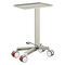 Mayo table on casters / stainless steel / with rotating tray