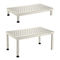 1-step step stool / 2-step / stainless steel / non-slip