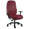 office chair / with armrests / on casters / with high backrest