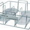 Petri dish laboratory rack