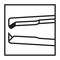 ophthalmic surgery forceps / with teeth / disposable