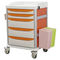 utility trolley / treatment / for instruments / for medical devices
