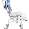 manual wheelchair / pediatric / shower / with legrest