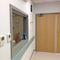 viewing window / laboratory / hospital / radiation protection
