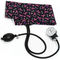 cuff-mounted sphygmomanometer