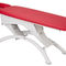 electric massage table / hydraulic / on casters / height-adjustable