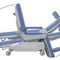 electric chemotherapy chair / 3-section / variable height / on casters