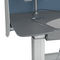 radiology computer workstation / tilting / height-adjustable