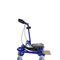 height-adjustable wheelchair frame
