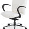 office chair / with armrests / on casters / height-adjustable
