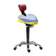 doctor's office stool / height-adjustable / rotating / tilting