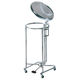 transport trolley / cleaning / waste / with waste bag holder