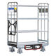 utility trolley / loading / for general purposes / with shelf