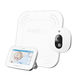 video baby monitor / sound / wireless / movement