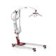 electric patient lift / on casters / folding / transportable
