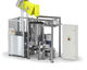 waste treatment system with shredder / with sterilizer / pressure seal
