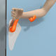 hospital door handle / polypropylene / antibacterial / sanitizing