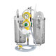 pneumatic surgical suction pump / vacuum-powered / portable