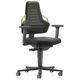 dental laboratory stool / laboratory / height-adjustable / swivel