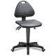 dental laboratory stool / height-adjustable / swivel / tilting