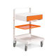 transport trolley / with drawer / with tray