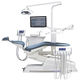 dental treatment unit with electro-mechanical chair / with LED light / with monitor / with intraoral camera