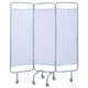 mobile hospital screen / 3-panel / with curtain