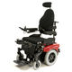 electric wheelchair / outdoor / with legrest / with headrest