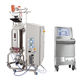 laboratory bioreactor / for microbial fermentation / single-use / cooling
