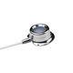 implantable venous port / single-lumen / titanium