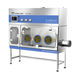 class III isolator / for the pharmaceutical industry / weigh / sampling