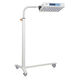 infant phototherapy lamp / on casters / blue light