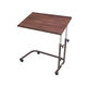 height-adjustable overbed table / on casters