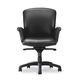 chair with armrests / on casters / height-adjustable / swivel